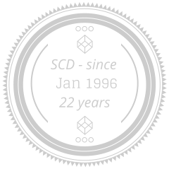 Jan 1996 22 years SCD - since