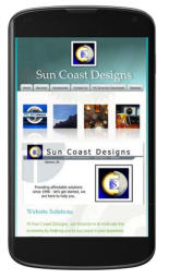 Sun Coast Designs - make your site mobile friendly